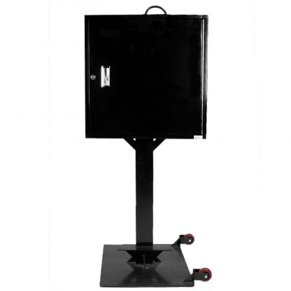 100 hook rolling key box stand