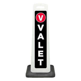 flat cone - valet - black background