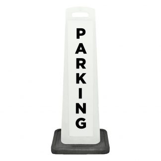 flat cone - parking - white background