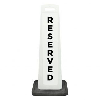 flat cone - reserved - white background
