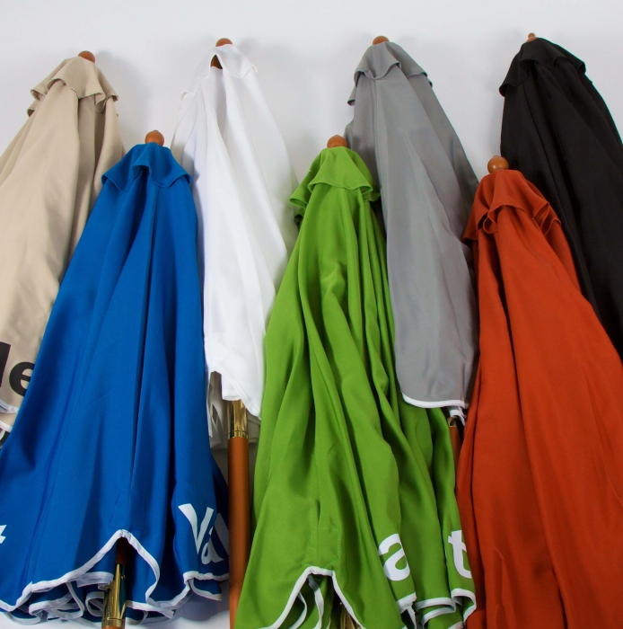 Canvas Valet Umbrellas